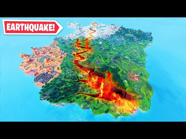 *WARNING* - Fortnite EARTHQUAKE CONFIRMED!
