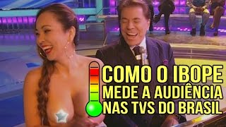 Como o IBOPE mede a audiência na TV aqui no Brasil thumbnail