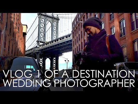 VLOG 1 of a Destination Wedding Photographer