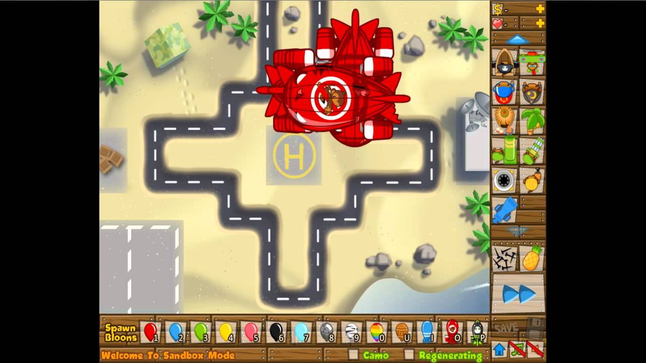 bloons tower defense 5 towers