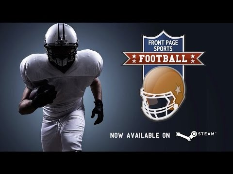 Front Page Sports Football - Launch Trailer