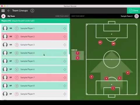 Overview On Match Stats & Reports - Tactical Soccer Tutorials