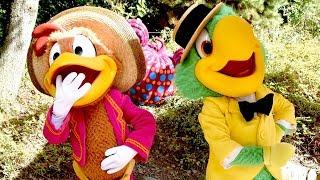 José Carioca and Panchito Meet & Greet at Disneyland Paris Halloween Festival 2018