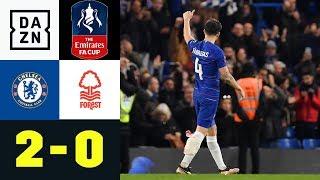 Cesc Fabregas verabschiedet sich bei Blues-Sieg: Chelsea - Nottingham 2:0 | FA Cup | Highlights