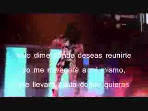Meet me halfway letra español ingles
