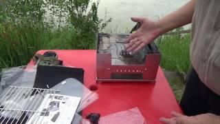Обзор складной печки/мангала  ESBIT BBQ300S