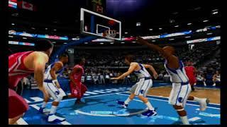 NBA Live 2005 - Rockets vs Mavericks
