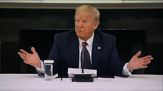 Trump taking malaria drug in case he gets virus