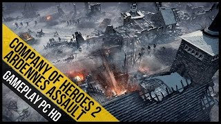 Company of Heroes 2 Ardennes Assault Gameplay (PC HD)