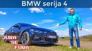 Coupe trojka - BMW serija 4 - Jura se fura