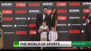 Messi wins third consecutive Golden Boot, sixth overall