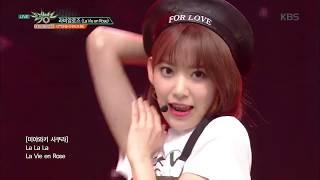 뮤직뱅크 Music Bank - 라비앙로즈(La Vie en Rose) - IZ*ONE (아이즈원).20181109