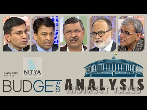 Budget Analysis 2018   Indirect Taxes   simply inTAXicating