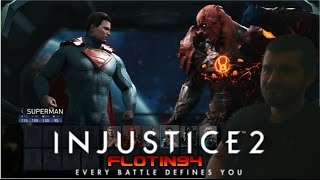 15 Minutes of Injustice 2 Gameplay in 1080p 60fps - Reakce/Reaction