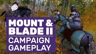 Mount & Blade 2: Bannerlord Campaign Gameplay (Gamescom 2019) | Castle Siege