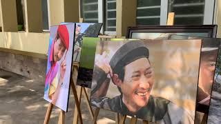 Lễ nhập quan nghệ sỹ Lê Bình