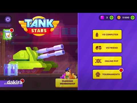 Игра Tank Stars на телефоне для детей