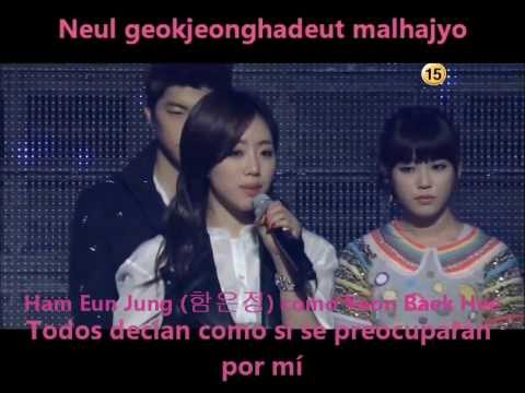 A Goose Dream- Dream High(Suzy,Taecyeon,Eunjung,Kim Soo Hyun,IU,Woojung)Sub Español Romanizacion