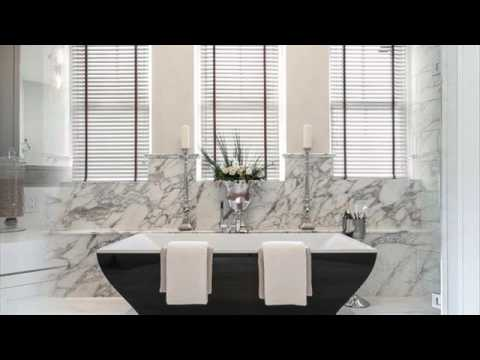 Bathrooms with Silver Accents