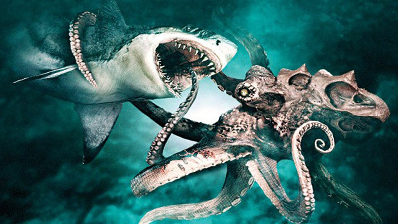 Kraken vs Megalodon - YouTube