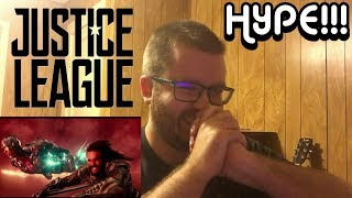 JUSTICE LEAGUE - Official Heroes Trailer Reaction!!! (HYPE!!!!!)
