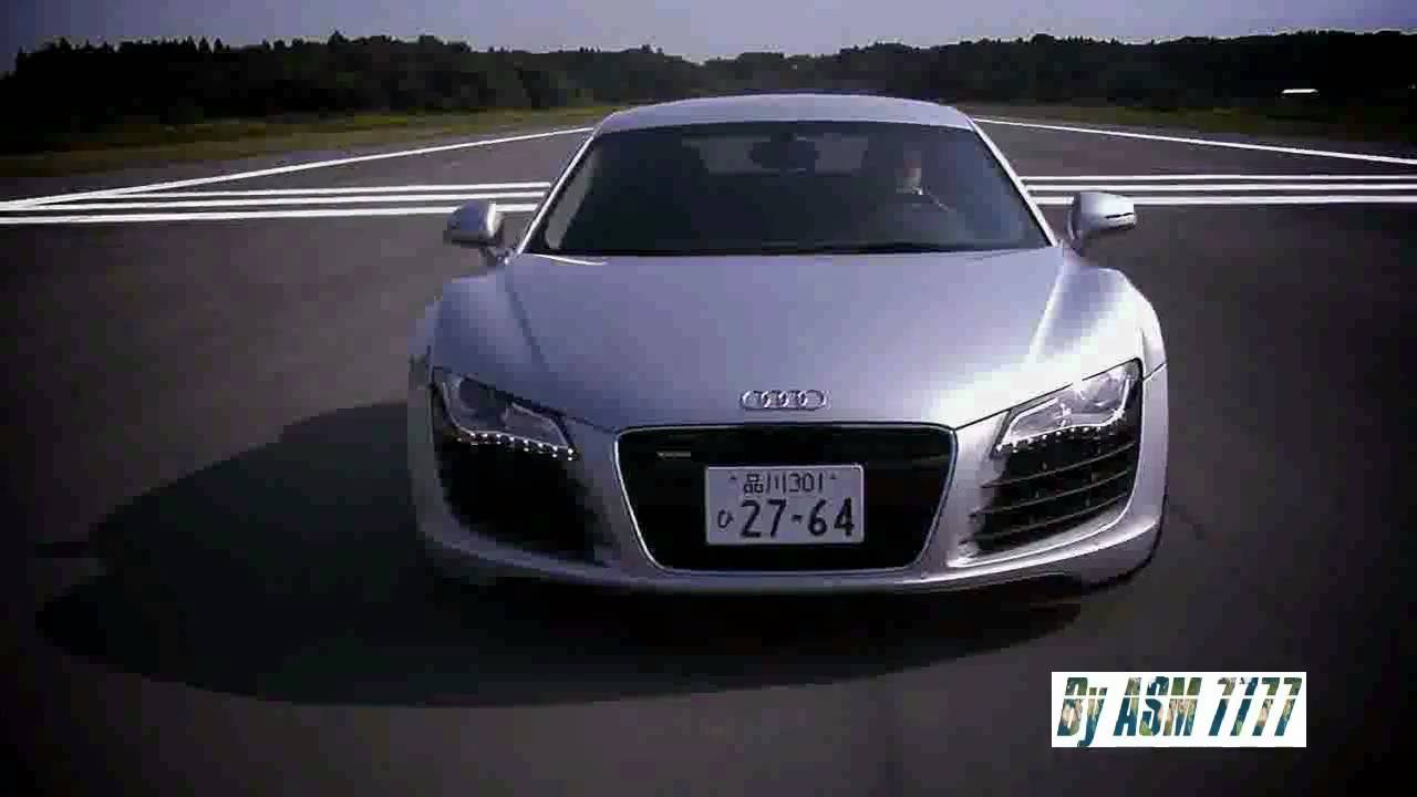 audi r8 blanche hd 720p youtube. Black Bedroom Furniture Sets. Home Design Ideas