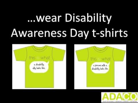 how to raise awareness for disabilities