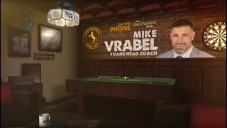 Titans HC Mike Vrabel on The Dan Patrick Show | Full Interview | 1/26/18