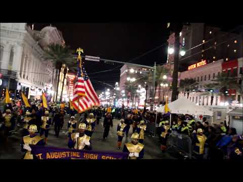 St Aug marching band 2018