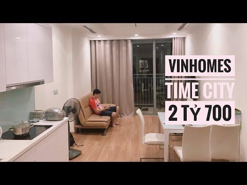 Đột nhập căn hộ Vinhomes Time City. Nội thất cơ bản giá có 2 tỷ 700.