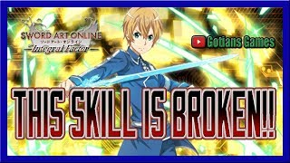 THIS EUGEO SKILL IS THE MOST BROKEN SKILL IN THE GAME!! Sword Art Online Integral Factor!