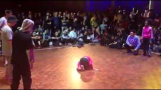 7 year old bgirl Terra at Freestyle Session Europe 2014