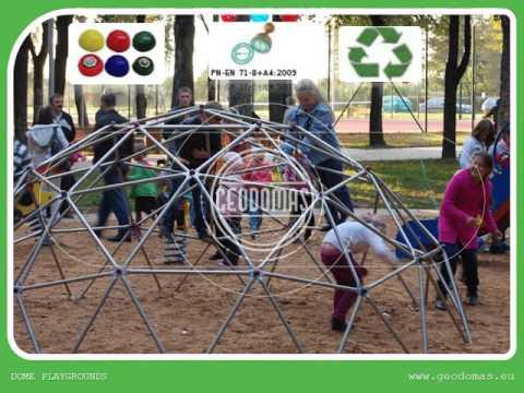 CHILDREN PLAYGROUNDS (Geodesic Dome) Kupolas | Kupolai