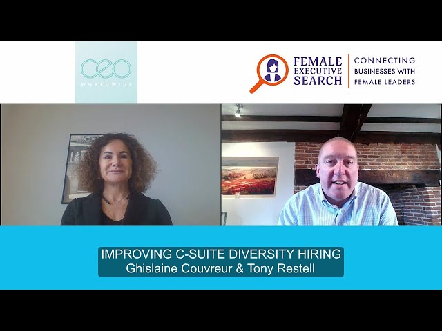 ❓ How can you improve your gender balance and hire executive talent remotely?