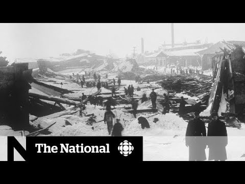 Halifax Explosion: 100 years later