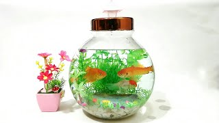 How to Make Mini Aquarium with…