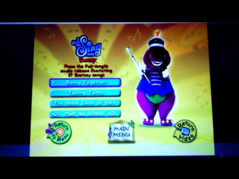 Barney- More Barney Songs