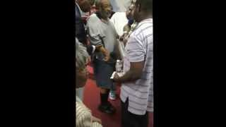 Apostle Michael Hunter- Paralized man healed at Holy Shabach 5/30/14