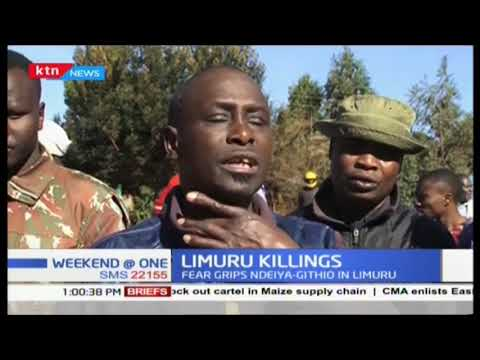 Fear grips Limuru residents after two bodies were found dumped in a thicket