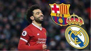 Salah wechsel zu Barca oder Real Madrid?