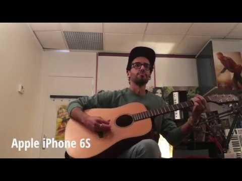 Zoom Q2n vs Apple iPhone 6S vs Sony PJ810