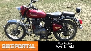 Royal Enfield Bullet 350 User Review - 'power full engine' - BikePortal