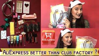 ALI EXPRESS Haul INDIA ( In HINDI ) | How to buy - Tip & Tricks | Aliexpress Makeup | Nukhrewali