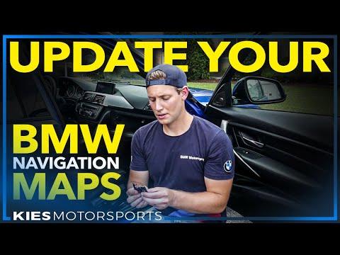 BMW CIC And NBT Navigation Map Update BMW F30 : F3x : F10 : F15 : F20 : F Series