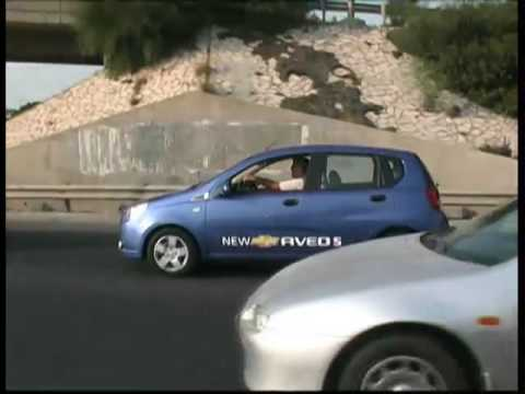 שונות שברולט אבאו 5 החדשה - תחרות הנהג החסכוני בדלק - YouTube WC-79