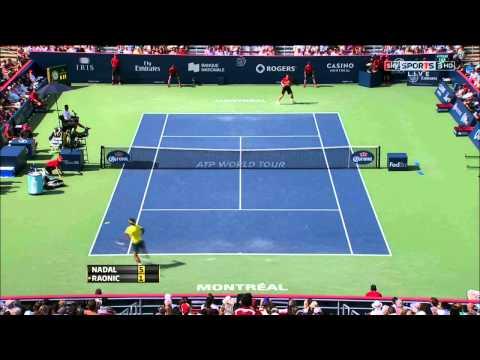 Montreal 2013 - F - Nadal vs Raonic (HD)
