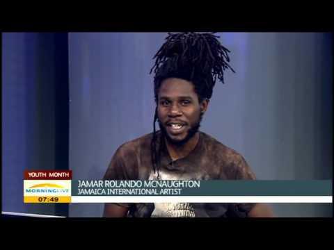 Jamar Rolando McNaughton on Reggae Youth Day Celebration