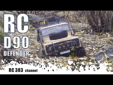 RC Defender D90 Great travel part 4