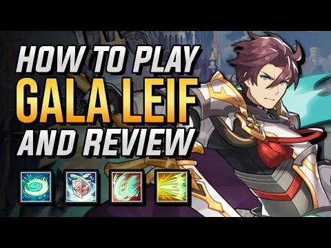 How To Play Gala Leif And Review | Dragalia Lost