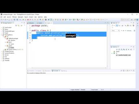 Java Packages 2 - problem with classes with the same name (Bangla)
